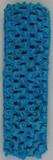 Turquoise Crochet Headband