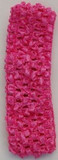 Hot Pink Crochet Headband