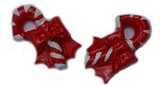 Candy Canes Flat Back Resins
