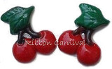 Cherries Flat Back Resins