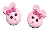 Bunny Face Flat Back Resins
