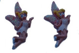 Blonde Hair Fairies Flat Back Resins