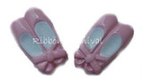 Ballet Slippers Flat Back Resins