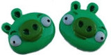 Green Pig Flat Back Resins