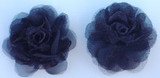 Rose Silk Flowers - Black