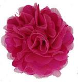 Rosette flowers - Hot Pink