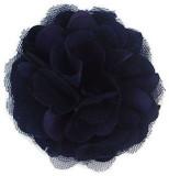 Rosette flowers - Navy