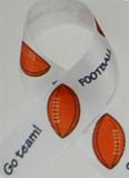 Football Hair Ribbon