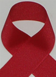 Schiff Cranberry Grosgrain Ribbon