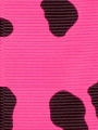Hot Pink Cow Grosgrain Ribbon