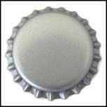 Silver Bottle Caps
