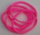 Hot Pink Nylon Chokers