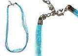 Organza Necklaces - Light Blue