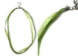 Organza Necklaces - Green