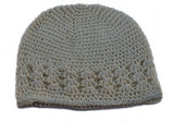 Crochet Kufi Hats - Cream