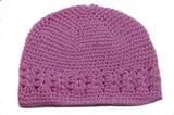 Crochet Kufi Hats - Light Pink