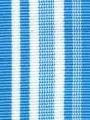 Miami Blue Preppy Striped Ribbon