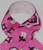 Bandana Pink Grosgrain Ribbon