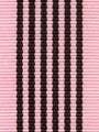 Chocolate Bubblegum Preppy Stripe Ribbon
