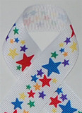 Circus Stars Grosgrain Ribbon