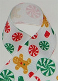 Gingerbread Man Ribbon