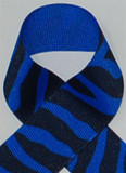 Electric Blue Zebra Printed Ribbon. Great for hair bows, cheer bows,craft ribbon and more