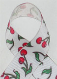 Little Cherries Grosgrain Ribbon