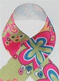 Mod Hot Pink Grosgrain Ribbon