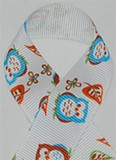 Owl Grosgrain Ribbon
