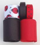 Ladybug Ribbon Mix