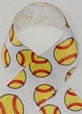 Softball Hair Ribbon
