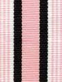 Baby Pink Preppy Stripe Ribbon