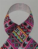 Tribal print Grosgrain Ribbon