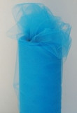 Turquoise Tulle Fabric