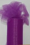 Deep Purple Tulle Fabric