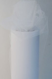 White Tulle Fabric