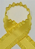 Yellow Ruffle Ribbon
