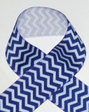 Chevron Printed Ribbon for Hair bows, Crafts and more