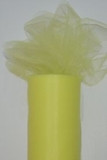 Bright Yellow Tulle perfect for dance, bridal veils, and home decor.