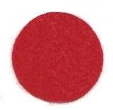 Red Felt Circles