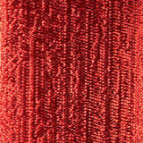 Red High Shine Metallic Ribbon