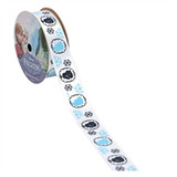 Frozen White Character Printed Ribbon
