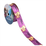 Frozen Purple Family Printed Ribbon