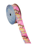 Princess Pink Castle Printed Ribbon