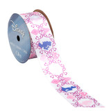 Princess Pink/Purple Silhouettes Ribbon
