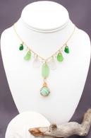 Green Swirl Bellingham Marble