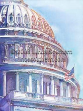"""Capitol Decisions"" by Linda Southern © 2008"