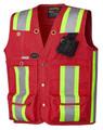 Red Surveyor Vest