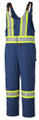 Navy Blue Hi Vis Overall Tall