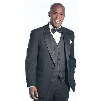 Neil Allyn Peak Polyester 1 Button Tuxedo